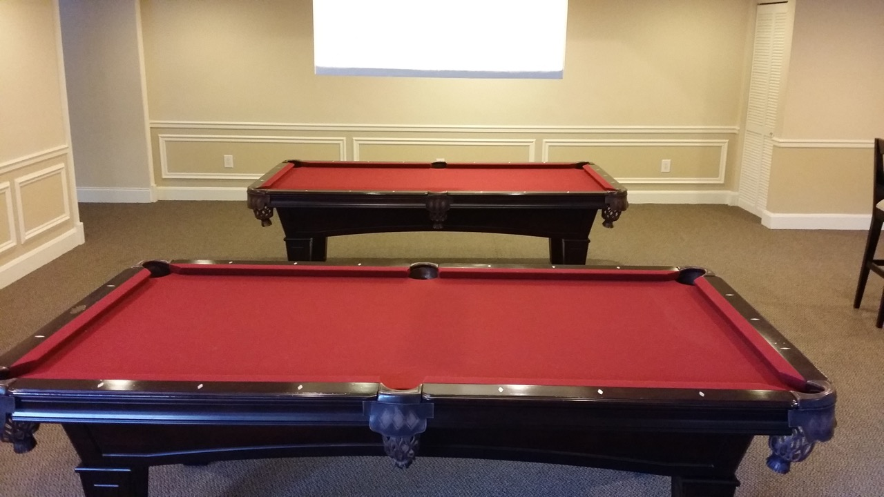 55 Merrick Pool Tables Room